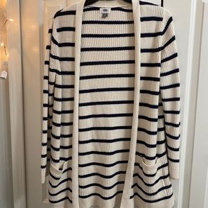 Old Navy Striped Cardigan Size L